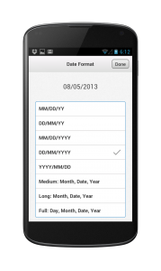 International date formats