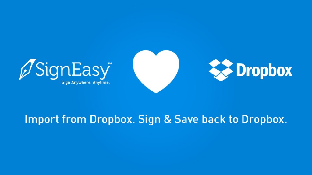 Electronic Signatures Dropbox