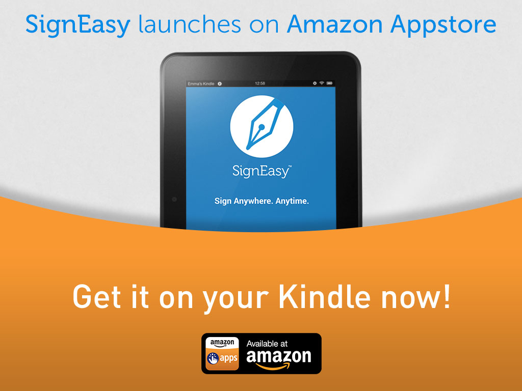 SignEasy launches on Amazon App Store