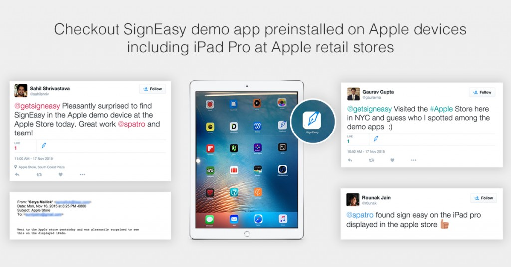 SignEasy in Retail Stores